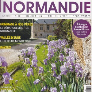 """Article """"Maisons Normandie"""" – Avril/Mai 2019"""
