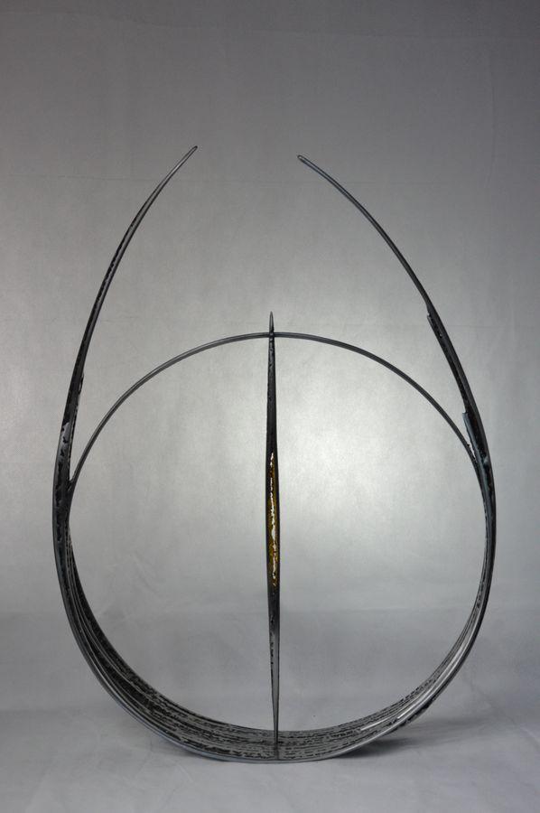 Alchimie Serge Guarnieri Sculpture Métal Fusionné