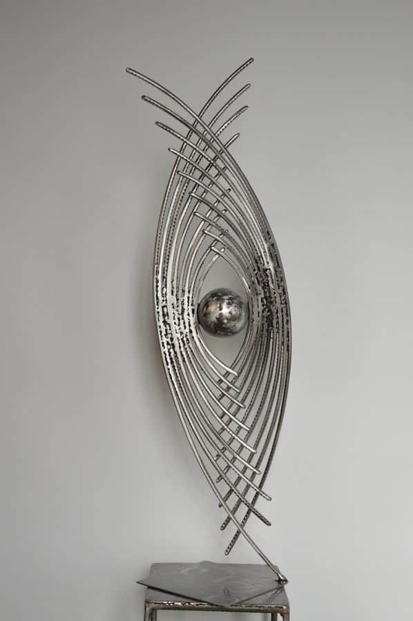 Astre 4 par Serge Guarnieri - Sculpture Métal Fusionné