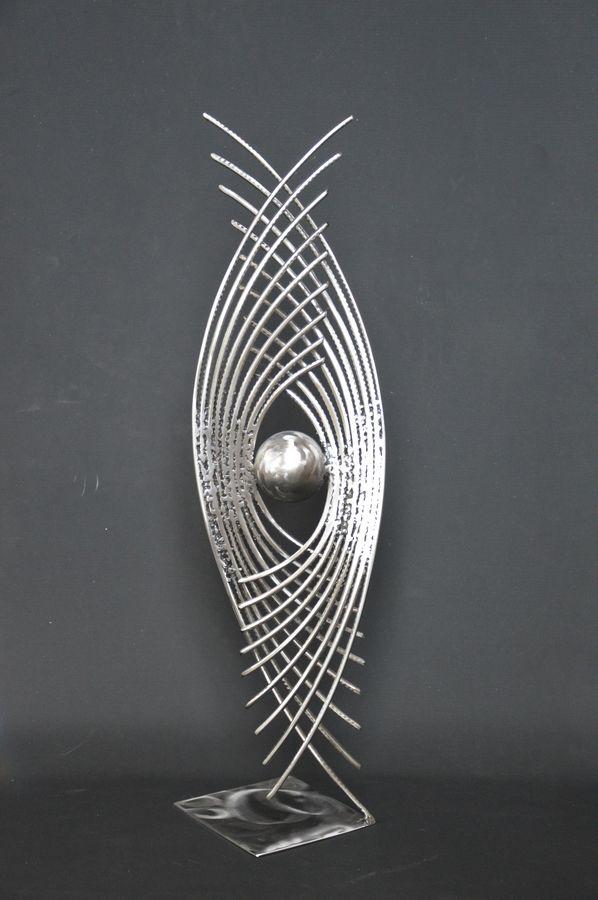Astre 6 par Serge Guarnieri - Sculpture Métal Fusionné