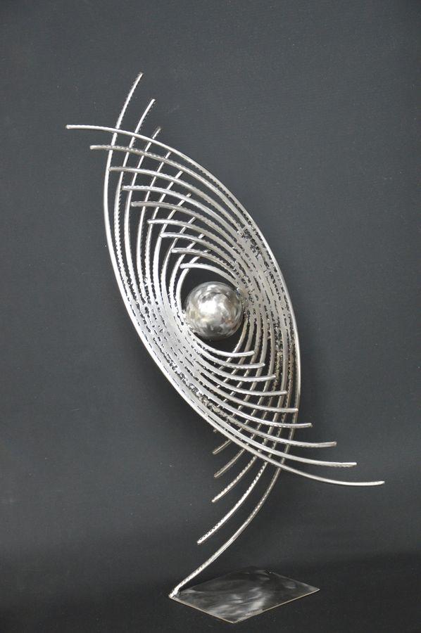 Astre 7 par Serge Guarnieri - Sculpture Métal Fusionné