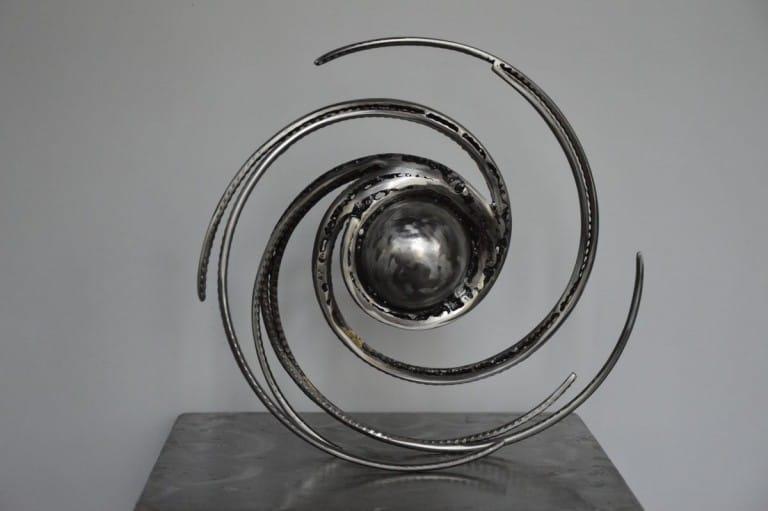 Cosmos 6 par Serge Guarnieri - Sculpture Métal Fusionné
