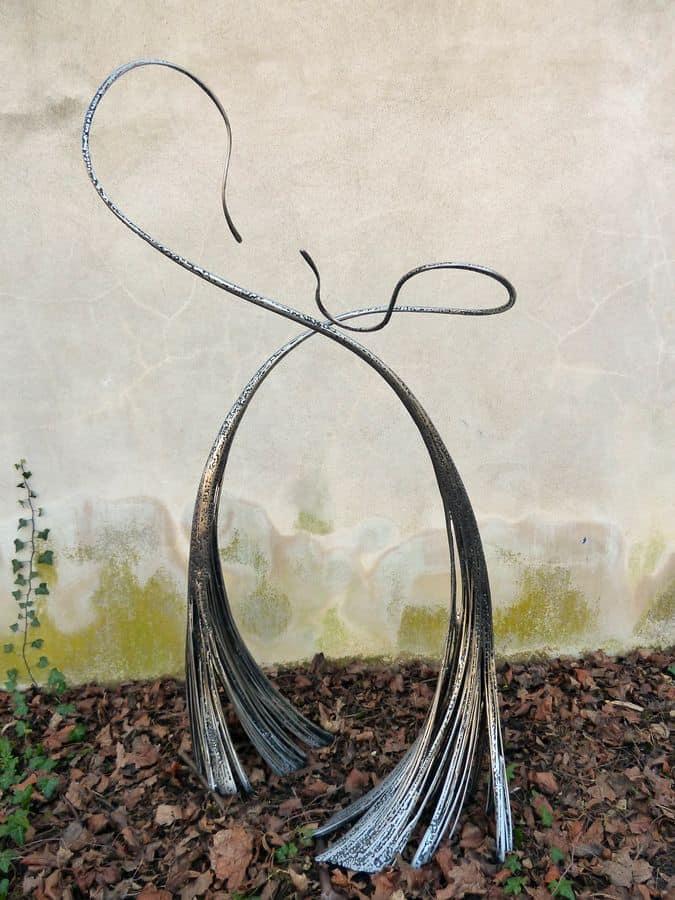 Duel Tactile par Serge Guarnieri - Sculpture Métal Fusionné