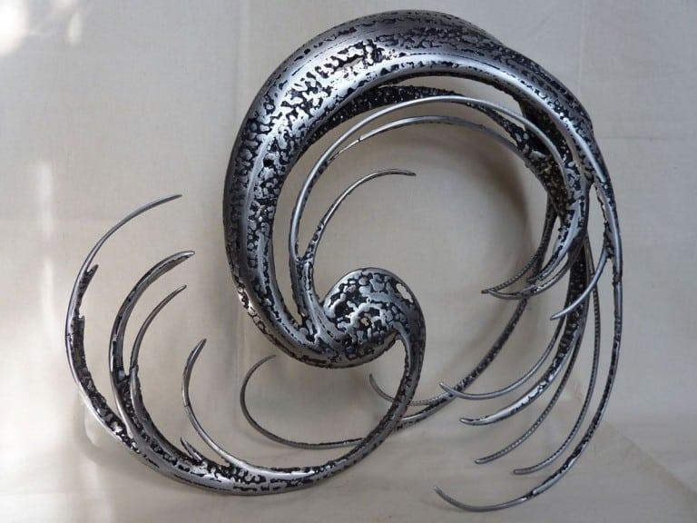 Energie par Serge Guarnieri - Sculpture Métal Fusionné