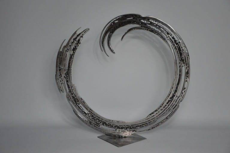 Enzo par Serge Guarnieri - Sculpture Métal Fusionné