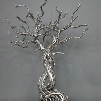 Kumiai par Serge Guarnieri - Sculpture Arbres-Bonsaïs