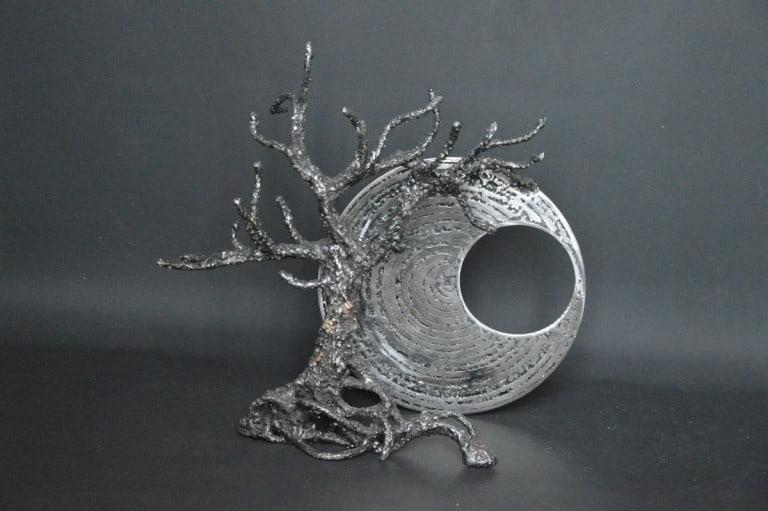Nisshoku par Serge Guarnieri - Sculpture Arbres-Bonsaïs