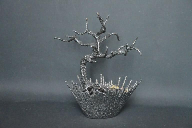 Yurika Go par Serge Guarnieri - Sculpture Arbres-Bonsaïs