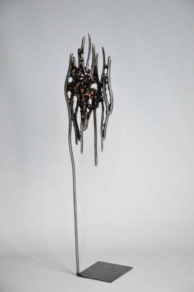 Bark par Serge Guarnieri - Sculpture Métal Fusionné