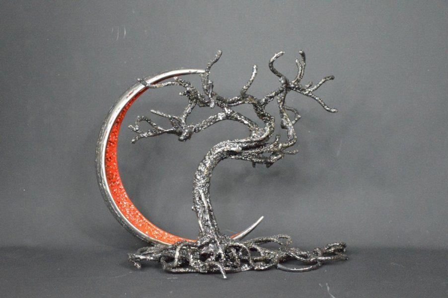 Mûntsuri par Serge Guarnieri - Sculpture Arbres-Bonsaïs