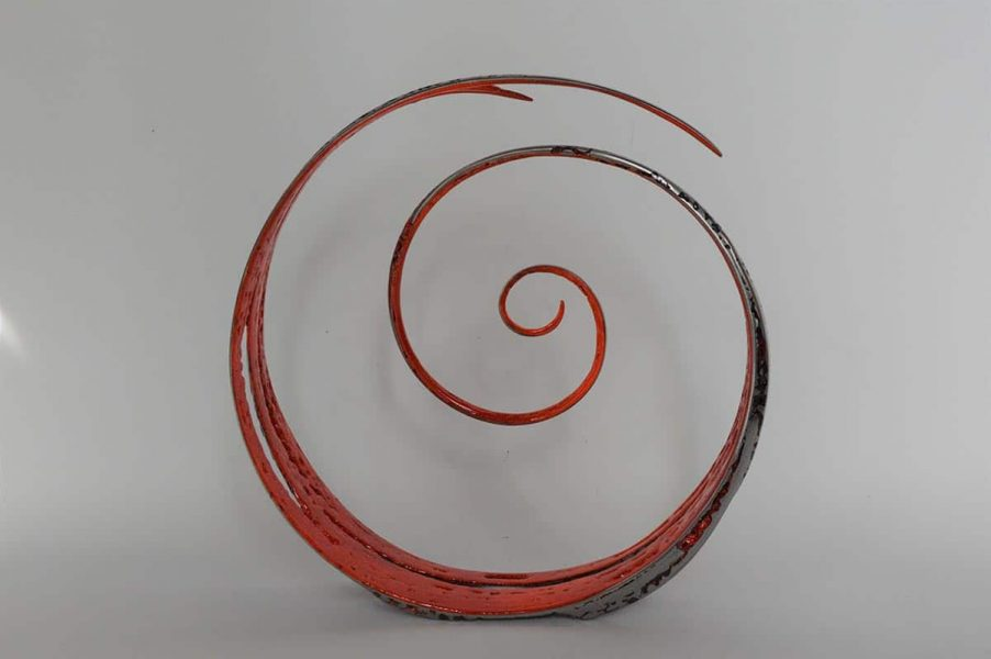 red spiral de serge guarnieri