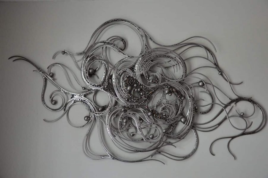 Space Oddity par Serge Guarnieri - Sculpture Murales